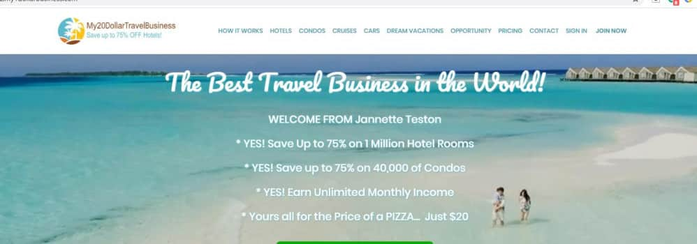 My 20 Travel Business
