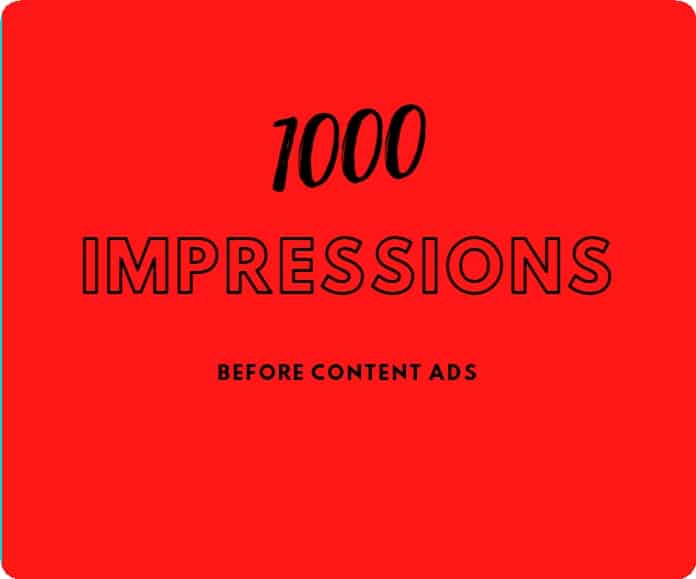 1000 Banner Impressions
