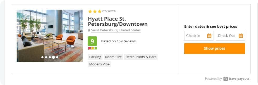 Single Hotel Recommendation